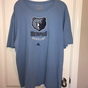 Adidas 'Memphis Grizzlies' Tee